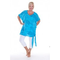 Barbados kaftan style tunic with bling!