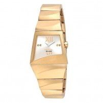 Breil Milano ladies gold metal watch.