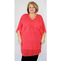 Seabreeze floaty overlay tunic
