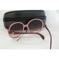 GIORGIO ARMANI brown and burgundy round sunglasses...